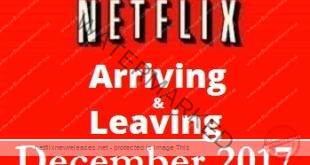 Arriving and Leaving Netflix