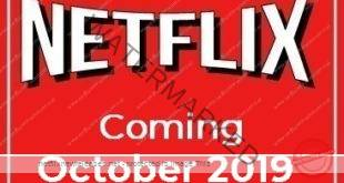 Coming to Netflix in October 2019