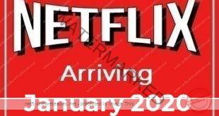 Arriving on Netflix in January 2020